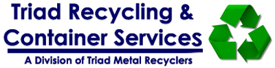 Triad Recycling & Container Services  Logo